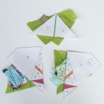 Paper Pieced Scandinavian Leaf Weallsew