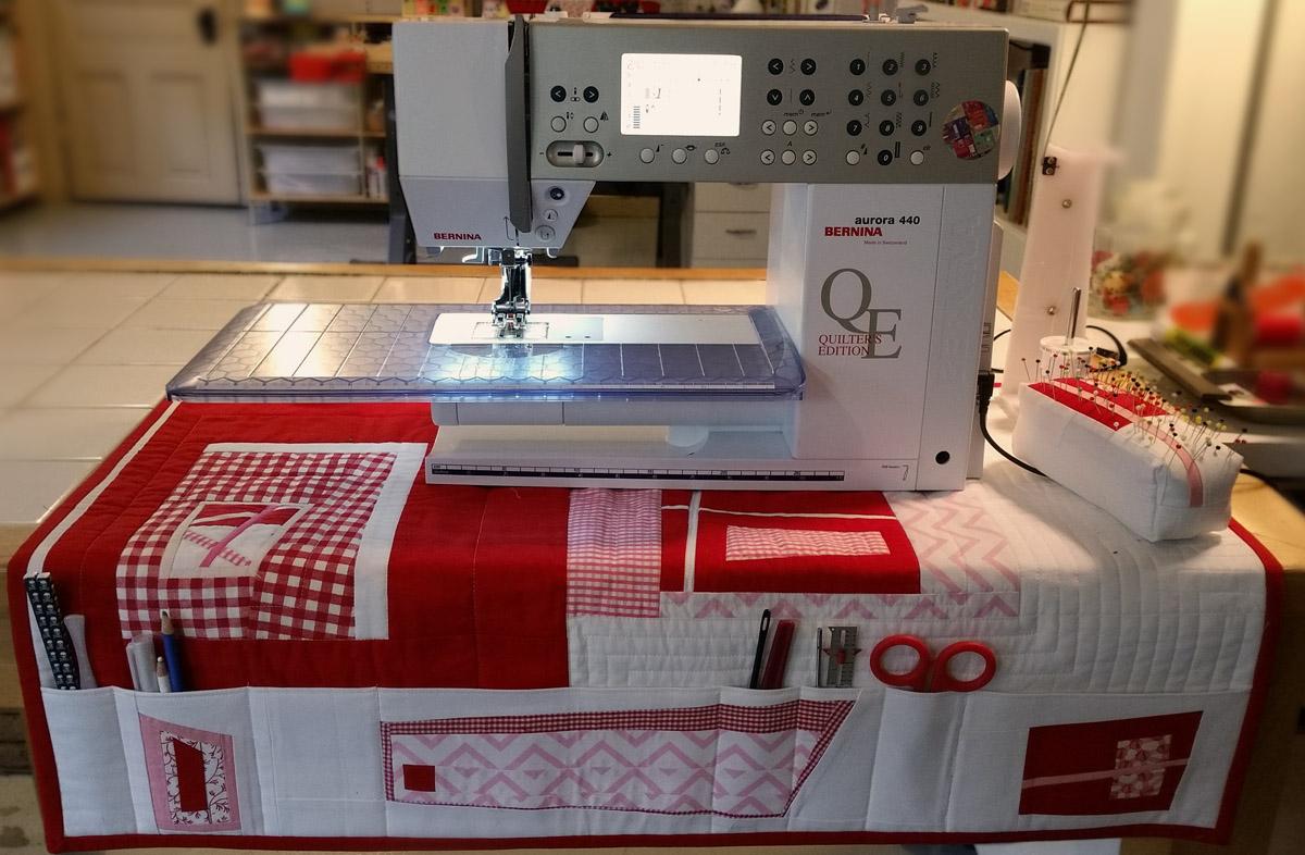 Sewing Machine Mat with Pockets  WeAllSew