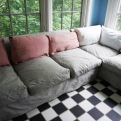 How To Make Sofa Cushions Harder Chestnut Color Makeover  Weallsew Bernina Usas Blog
