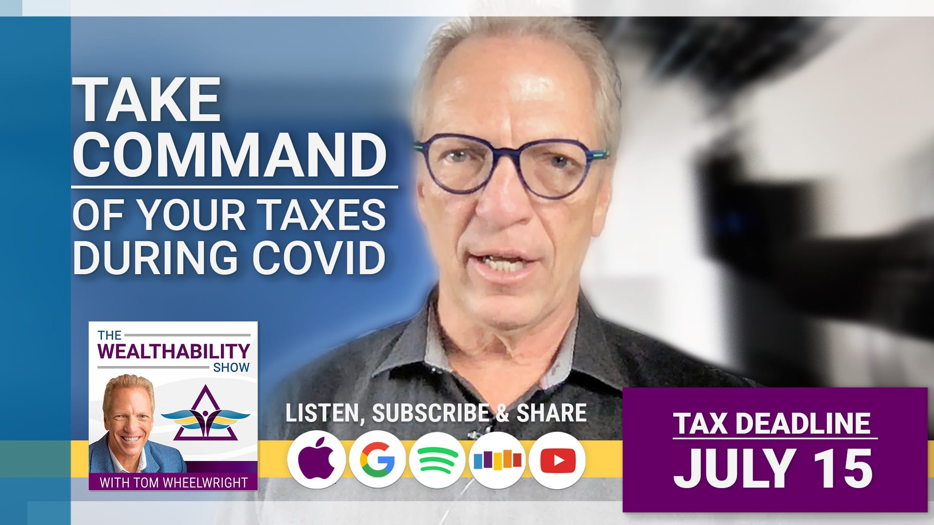 Take Command of Your Taxes During COVID