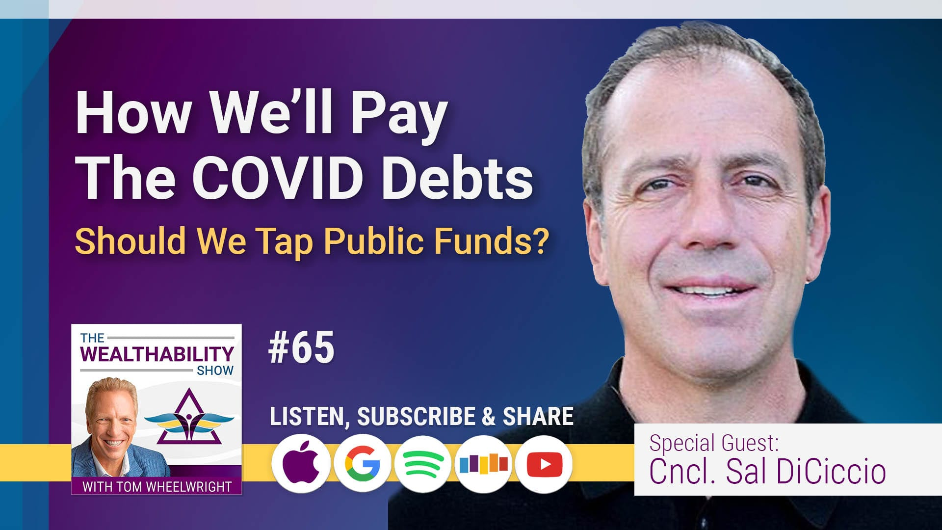 How We Will Pay The COVID Debts