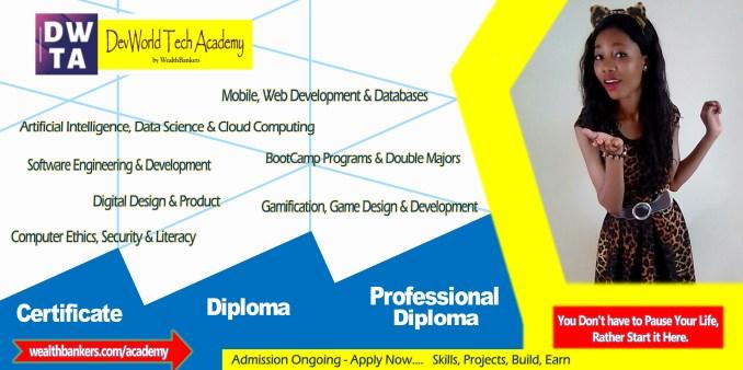 DevWorld Tech Academy Study Programs