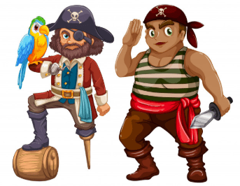 DWTA IT computer training school Pirates cartoon diploma qualification levels