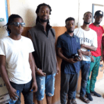 Six persons arrested for destroying campaign posters in Lagos