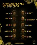 Alex Iwobi up against Salah, Mane and Auba for Player of the Year Award