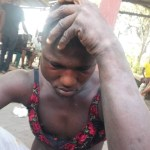 Photos: Man caught in Delta State after stealing bra and looking for panties to pick