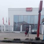Yahoo Boy Runs Mad At UBA ATM In Sapele Delta State Days After He Allegedly Used Girlfriend For Money Ritual