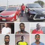 EFCC arrests 6 suspected Yahoo boys in Abuja, recover two Bugatti, Benz ,Porshe, $49,000 and duplex worth N300 million