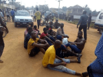 10 Men Caught while trying to snatch ballot boxes in Abia State ( Photo)
