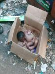 New Born baby found dead Inside a Carton ( Anambra State)
