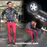 MC Shakara Survives a ghastly accident ( See Photo &Video)
