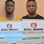 3 Yahoo Boys Arraigned By EFCC In Ibadan (Photo)