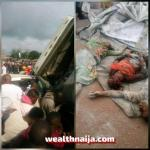 Dangote Truck Crushes Over  8 Persons To Death In Edo State (Photos)