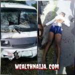 Young Lady Killed In a Fatal Accident In River State ( Photo)