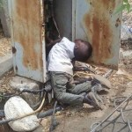 Little boy electrocuted after walking into an open transformer in Niger state ( Graphic Photo)