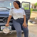 Actress Regina Daniels Acquires New Mercedes Brabus (Photo)