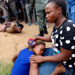 Young Lady Rescued by Police from the hands of Suspected Yahoo Boys In Delta State (Photo)