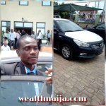 Civil Servant Who Returned N53M Mistakenly Paid Into His Account Rewarded with a Brand New Car
