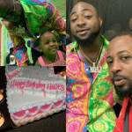 Lovely Photos and Video from Davido's Daughter birthday Party (Photos & Video)