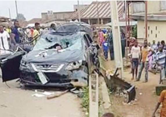Fatal Accident !!! 4 Years old boy crushed to death inside