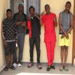 EFCC  Parades Naira Marley And Zlatan and others ,Over Internet Fraud (Photos)