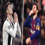 Lionel Messi Equals Cristiano Ronaldo's tally of 600 Club Goals with 118 Games Less