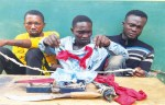 3 Men Nabbed for Stealing Female Pant in Ogun State (Photo)