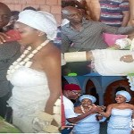 Just In !!! Regina Daniels Initiated into 'married women group' with traditional ritual rites in Anioma as wife of Ned Nwoko (Photos & Video)