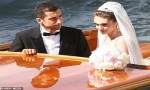 Lovely Pictures from Arsenal football star, Henrikh Mkhitaryan and his bride Wedding Reception in Venice Italy (Photos)