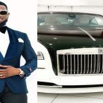 Nigerian singer Dbanj Acquired  New Rolls Royce for his birthday (Photos)