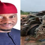 Popular Nollywood Star Yul Edochie Miraculously Survives Terrible Accident (Photos)