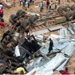 So Sad !!! Truck Accident Leaves Six people dead in Gombe (Photo)