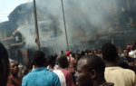 Mother and Child Burnt to Death as Petrol Tanker Explodes in Ochanja Market Onitsha, Anambra State(Photos & Video)