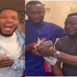 Omashola & Frodd Get N300k and N500k from MC Galaxy (video)