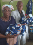 WOW!!! 68-Year Old Woman Gives Birth to Twins in Lagos State