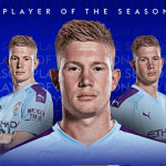 Kevin De Bruyne Wins Premier League Player of the Season for the 2019/20 campaign