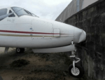 Jet rams into Fence at Lagos Airport after brake Failure