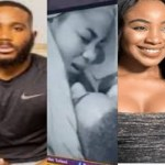 BBNaija: Erica Moans as she enjoys Intense 'Under the Duvet' action with Kiddwaya (Videos)