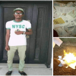 Frustrated Nigerian Graduate Sets all his Certificates Ablaze due to inability to Secure a Job