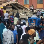 6 People confirmed dead as building Under Construction Collapses in Lagos State(Photos)