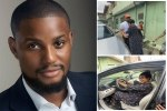 Nigerian actor, Alex Ekubo gifts his Mum a Car (Photos & Videos)