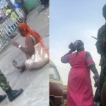 Soldiers in Viral Videos assaulting Residents of Ibadan, Oyo State have been arrested