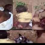 20 Persons including children killed as trailer rams into Market in Ondo state (Video)