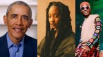 Nigerian singers, Wizkid and Tems make Barrack Obama's 2020 list of favourite songs
