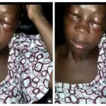 Husband beats his Wife For Starting a Small business Without his Consent (Video)