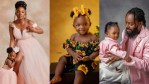Simi and Adekunle Gold, share Lovely New Photos as they Mark their Daughter's first Birthday (Photos)