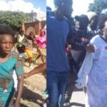 Woman nabbed after allegedly stealing a child (Photos)