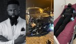 Popular Nigerian Fashion designer, Yomi Casual, hospitalised After Surviving a Motor Accident (photos)