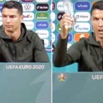Coca-Cola market value drops by $4b after Cristiano Ronaldo snubbed the drink for water