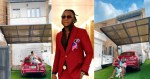 """""""House No 5"""" - DJ Kaywise writes as he shows off new house to mark his birthday (Photos)"""